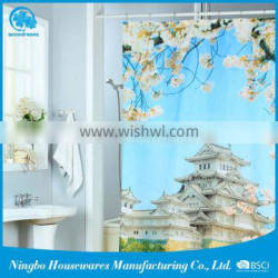 Wholesale From China polyester cloth shower curtain