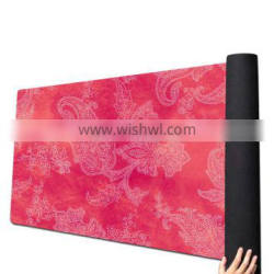 Eco friendly suede natural rubber customized printing yoga mat for children