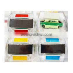 red color solar road stud