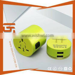 smart charger with logo beam and intelligent IC quick charge 3.1A