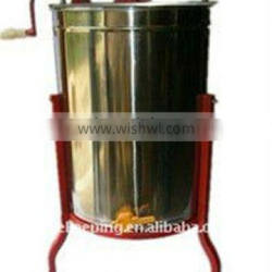 2 Frame stainless steel honey extractor by manual operation