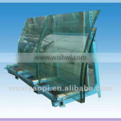 Curved glass price with CE&CCC certificate