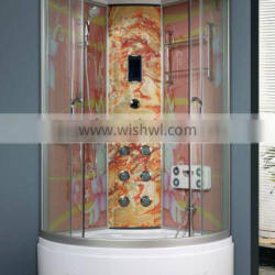 2015 zhejiang luxury ABS glass steam shower cabin for home