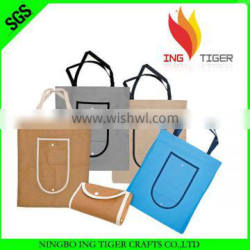 2016 Hot Sales For Shopping Imprint Promotion Logo Foldable Non Woven Bag