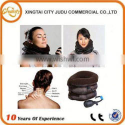 Ambulatory home cervical traction device