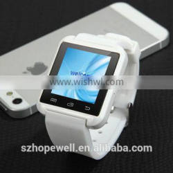 low cost watch mobile phone U8 Smart wrist watch phone bluetooth
