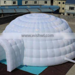 two entrances giant Inflatable igloo tent large Inflatable marquee dome tent