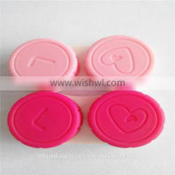 Cute Custom Contact Lens Double Case For Lens