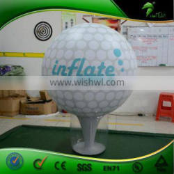 Golf Sports Replica Inflatable Balloon For Advertising, Inflatable Golf Balloon