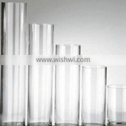 hot sale high quality glass tube flower vase