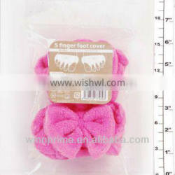 plush toy (finger foot cover)