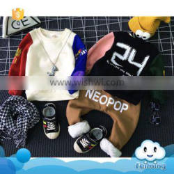 Apparel children t shirt clothes guangzhou baby cotton tops children's clothing