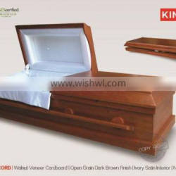 CardCONCORD factory price of funeral coffin export in wuhu