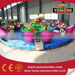 Outdoor equipment Water park snail attack force rides of amusement rides children game for sale