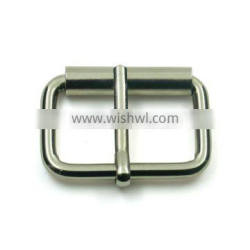 Custom size brass roller pin buckle with nickel plated
