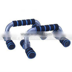 PLASTIC PUSH UP BAR WITH TWO COLOR FOAM