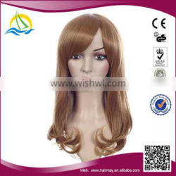 New fashion style Customizable Synthetic korea color wig