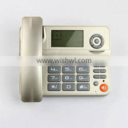Wholesale 2 line gsm desktop phone with speakerphone