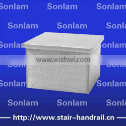 handrail metal end cover