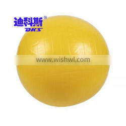 Durable Hot Sale Fitness Exercise Yoga Ball Yellow Colored