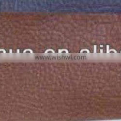 Popular Pvc bag leather with fabric backing and 0.6mm thickness