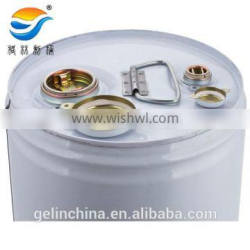 20L round metal pail with Tri-sure lid