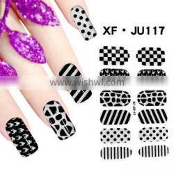 2016 hot sell fashion sheet nail decals sticker for nail art