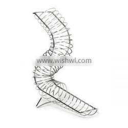 New Design Chrome Wire Curved Fruit Basket