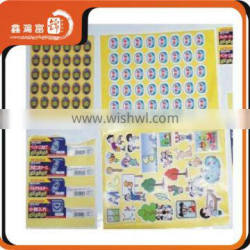 custom new style adhesive rubber patch sticker