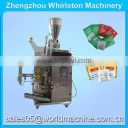 DXDC-6 trangle/flat small tea bag packing machine with string and tag
