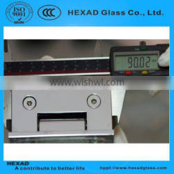 NICE QUALITY //LOW PRICE Casting Shower Glass Hinges// HEXAD GLASS