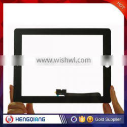 Best quality own factory price touch glass Replacement for iPad 4 black