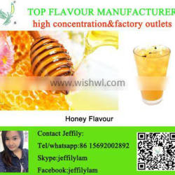 High concentration honey flavour for beverage for ice cream for candy,samples are free to test