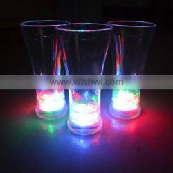 Promotional colored led flashing beer cup