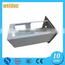 WELDON OEM zinc plated carbon steel sheet metal stamping part, forming stamping part