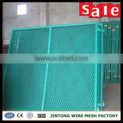 expanded metal cloth for fence /pvc coated expanded mesh fence panel