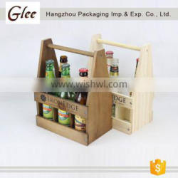4 bottles 6 bottles wooden wine crate