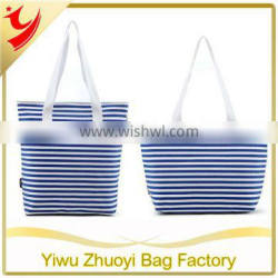fashion canvas tote women's bag from factory