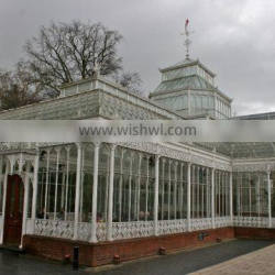 China supplier commercial glass Hotel & wedding used greenhouse