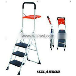 4step aluminum foldable ladder capacity 150kgs