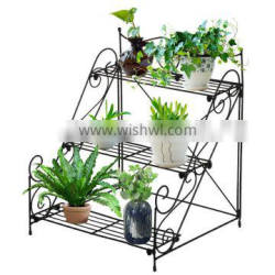 Cheap wrought iron outdoor plant stands