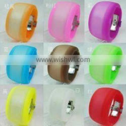 colorful rubber watches for girl s