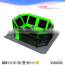 2016 very cheap indoor playground equipment of trampoline for hot sale