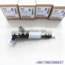 Genuine and new diesel engine fuel common rail injector 0445110307