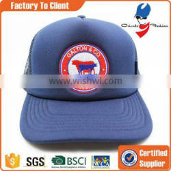 custom made 100% polyester trucker hat with your logo