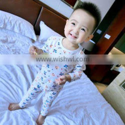 Wholesale Children Sleeping Sets Frock Pattern Pajamas Suits Of Child Clothes