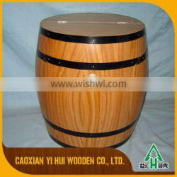 Professional China Factory Wood Material Wooden Wine Barrel
