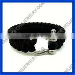 YUAN fashionable stainless steel paracord bracelet buckle wholesale