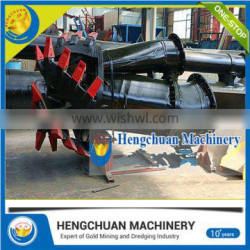 China Supplier Clay Deposit River Sand Cutter Suction Dredging Machine