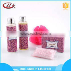 BBC lady Gift Sets Suit 002 Lovely women travel personal care natural bath gift sets